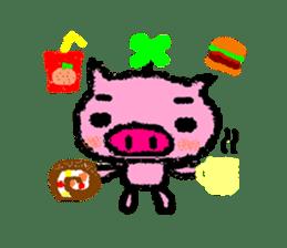 The life of [Kobutasan] sticker #371611