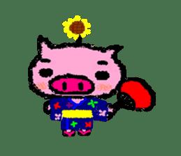 The life of [Kobutasan] sticker #371619
