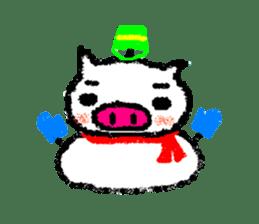 The life of [Kobutasan] sticker #371621