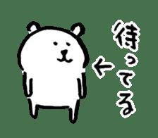joke bear sticker #371754