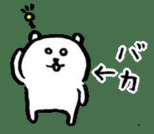 joke bear sticker #371758