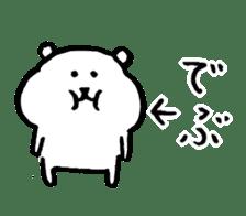 joke bear sticker #371760