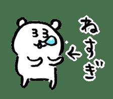 joke bear sticker #371765