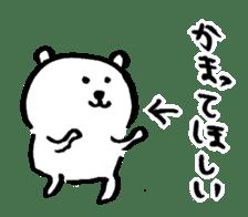 joke bear sticker #371780