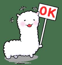 Alpaca and Mr. Sugiyama sticker #371870