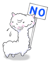 Alpaca and Mr. Sugiyama sticker #371871