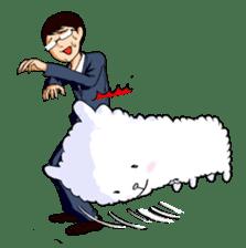 Alpaca and Mr. Sugiyama sticker #371874