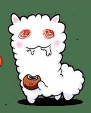 Alpaca and Mr. Sugiyama sticker #371877