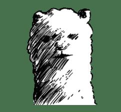 Alpaca and Mr. Sugiyama sticker #371881