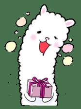 Alpaca and Mr. Sugiyama sticker #371891