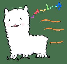 Alpaca and Mr. Sugiyama sticker #371895