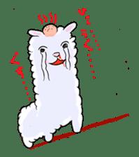 Alpaca and Mr. Sugiyama sticker #371902
