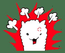 Alpaca and Mr. Sugiyama sticker #371903