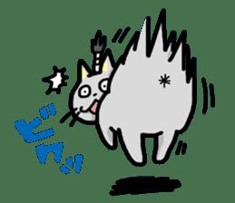 Samurai Cat sticker #371947