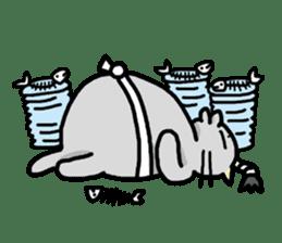 Samurai Cat sticker #371968