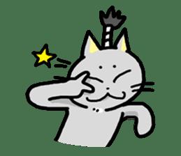 Samurai Cat sticker #371970