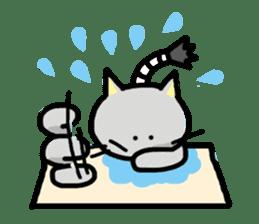 Samurai Cat sticker #371976