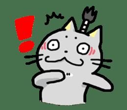 Samurai Cat sticker #371977
