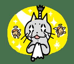 Samurai Cat sticker #371983