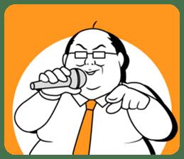 Funny Salaryman uncle sticker #372138