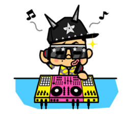 DJ AkirA sticker #372219
