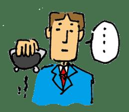 40 methods for stopping the talk. sticker #372948