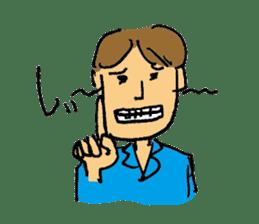 40 methods for stopping the talk. sticker #372967