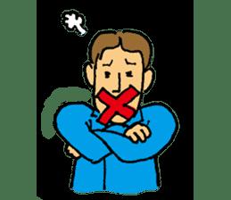 40 methods for stopping the talk. sticker #372968