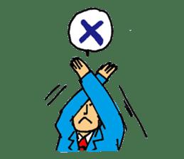 40 methods for stopping the talk. sticker #372973