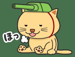 Cat Tank sticker #373505