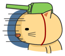 Cat Tank sticker #373540