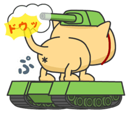 Cat Tank sticker #373544