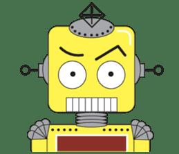 Retro Robot HUNDREF sticker #373804