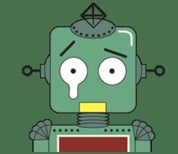 Retro Robot HUNDREF sticker #373824