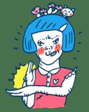 Satoshi's happy characters vol.08 sticker #374705