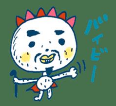 Satoshi's happy characters vol.08 sticker #374709