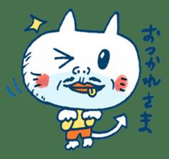 Satoshi's happy characters vol.08 sticker #374737