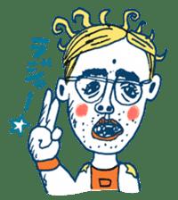 Satoshi's happy characters vol.08 sticker #374739