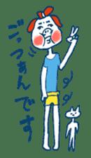 Satoshi's happy characters vol.08 sticker #374744