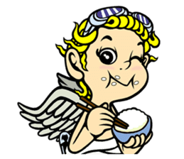 "Cool Angel ""Coo"" sticker #374864"