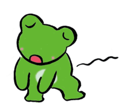 Fine Frogs sticker #375439
