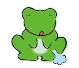 Fine Frogs sticker #375440