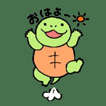 turtle's life 1st sticker #375706