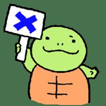 turtle's life 1st sticker #375709