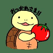 turtle's life 1st sticker #375722