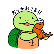 turtle's life 1st sticker #375723