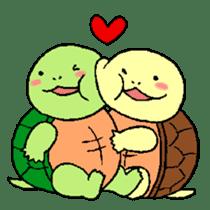 turtle's life 1st sticker #375724