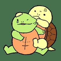 turtle's life 1st sticker #375725
