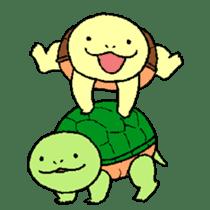 turtle's life 1st sticker #375727