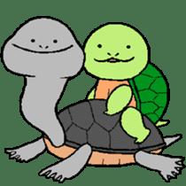 turtle's life 1st sticker #375729